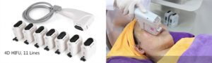 Аппарат SMAS HIFU 4D Pro NEW 4 в 1